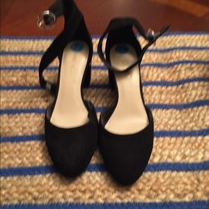 Nine West suede shoes 7 1/2